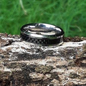 Triton cobalt mens ring